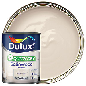 Dulux Quick Dry Satinwood Natural Hessian 750ml