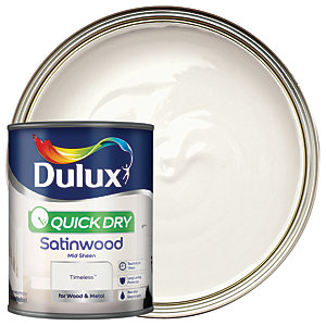 Dulux Quick Dry Satinwood Timeless 750ml