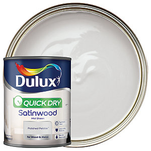 Dulux Quick Dry Satinwood Polished Pebble 750ml