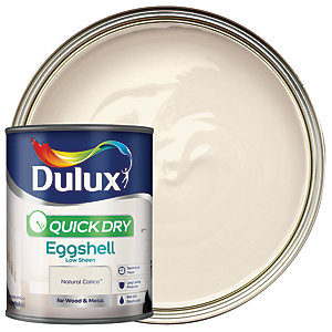 Dulux Quick Dry Eggshell Natural Calico 750ml