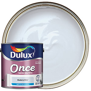 Dulux Once Matt Blueberry White 2.5L