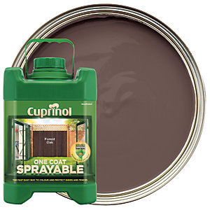 Cuprinol 1 Coat Sprayable Forest Oak 5L