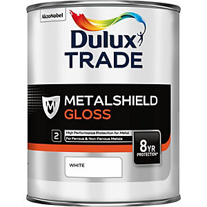 Dulux Metalshield Gloss White 1L