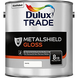 Dulux Metalshield Gloss White 2.5L