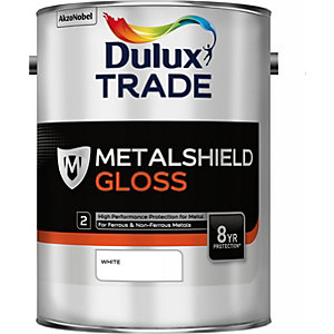 Dulux Metalshield Gloss White 5L