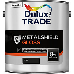 Dulux Metalshield Gloss Black 2.5L