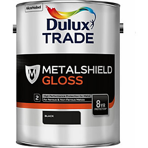 Dulux Metalshield Gloss Black 5L