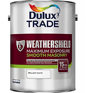Dulux Weathershield Maximum Exposure Pure Brilliant White 5L