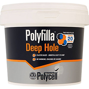 Polycell Polyfilla Trade Deep Hole Filler 1Kg