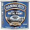 Hammerite Metal Paint Smooth Silver 250ml