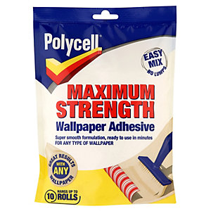 Polycell Max Strength Wallpaper Adhesive 10 Roll
