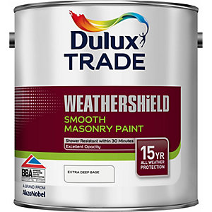 Dulux Colour Dimensions Weathershield Smooth Masonry Paint Extra Deep 2.5L