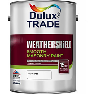 Dulux Weathershield Smooth Masonry Paint Colour Dimensions Light 5L