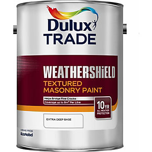 Dulux Colour Dimensions Weathershield Textured Masonry Paint Paint Extra Deep 5L