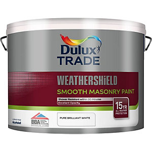 Dulux Smooth Masonry Paint Pure Brilliant White 10L