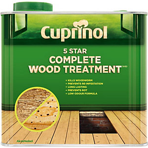 Cuprinol 5 Star Complete Wood Treatment (Wb) 2.5L