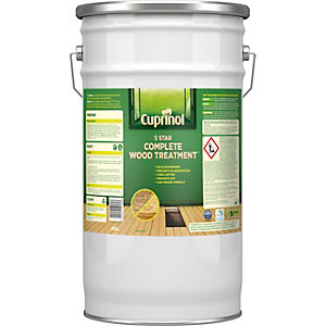 Cuprinol 5 Star Complete Wood Treatment (Wb) 25L