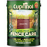 Cuprinol Less Mess Fence Care Autumn Red 5L
