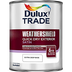 Dulux Cd Weathershield Quick Dry Satin Extra Deep 1L