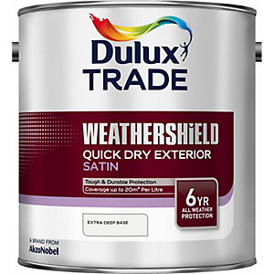Dulux Cd Weathershield Quick Dry Satin Extra Deep 2.5L