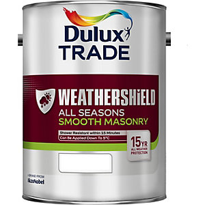 Dulux Trade Weathershiel All Season Smooth Masonry 4.5 Litre