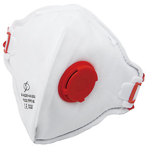 Wickes Powertool & MDF Sanding Respirator P3 White