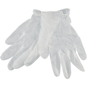 Wickes Vinyl Gloves XL Pack 10