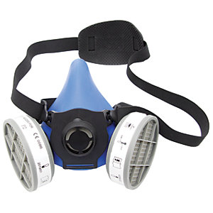 Wickes Master Respirator with Cartridges White