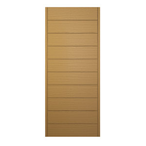 Wickes Oslo External Oak Veneer Door 1981 x 838mm