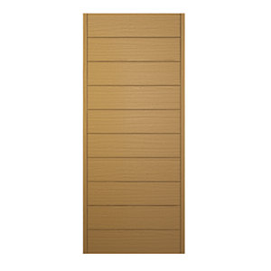 Wickes Oslo External Oak Veneer Door 2032 x 813mm