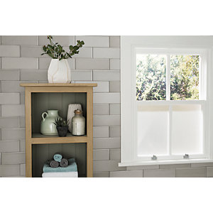 Wickes Soho Light Grey Ceramic Wall Tile 300 x 100mm