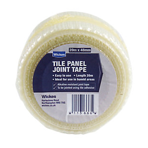 Wickes Tile Panel Joint Tape 20m