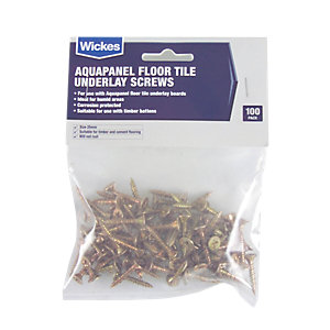 Knauf Aquapanel Floor Tile Underlay Screws Pack 100