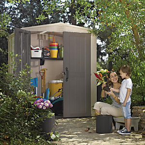 Keters Plastic Factor Shed 6 x 6