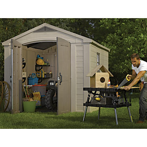 Wickes Plastic Factor Shed 8 x 11