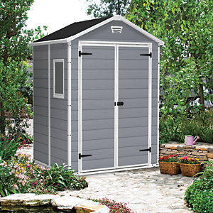 Keter Manor Plastic Shed 6x5