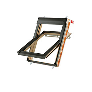 Keylite Centre Pivot Roof Window 550mm X 980mm Triple Glazing