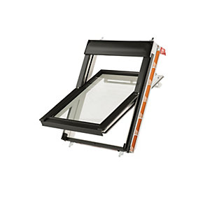 Keylite Centre Pivot Roof Window 780mm X 980mm White