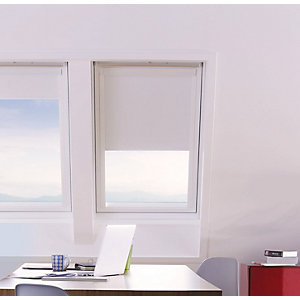 Wickes Roof Window Blinds White 1140x1180mm