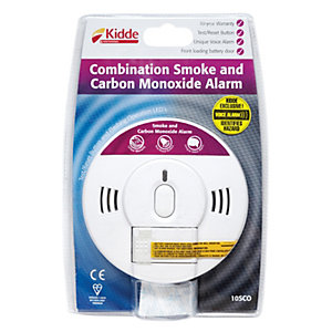 Kidde 10SCO Combination Smoke & Carbon Monoxide Alarm