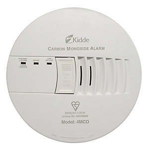 Kidde 4MCO Mains Powered Carbon Monoxide Alarm
