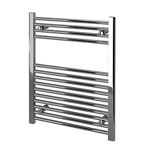 Kudox Towel Radiator 600 x 750mm Straight Chrome