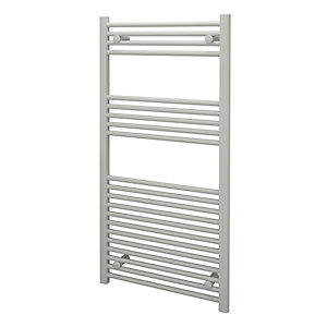 Kudox Towel Rail 600x1200mm Straight White Radiator