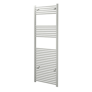 Kudox Towel Rail 600x1800mm Straight White Radiator