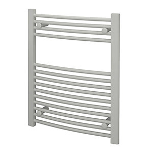 Kudox Towel Rail 600x750mm Curved White Radiator