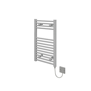 Kudox Electric Towel Radiator 400 x 700mm Flat White