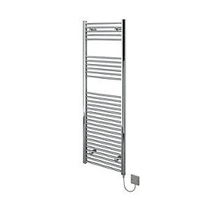 Kudox Electric Towel Rail 500x1500mm Flat Chrome Radiator