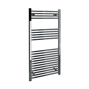 Kudox Towel Radiator Straight Chrome 600mm x 1200mm