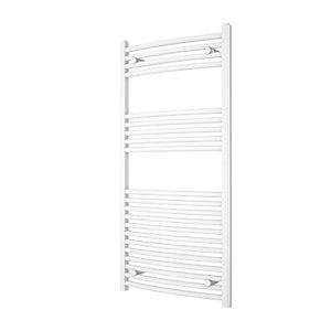 iflo 25 mm Straight Towel Rail White 1200 x 600 mm