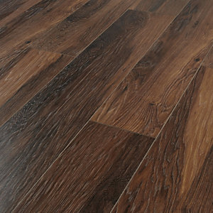 Wickes reynosa red river hickory laminate flooring for Wood floor underlay screwfix